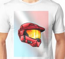 Stylised Spartan Red Unisex T-Shirt