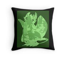 Shadow Dragon Throw Pillow