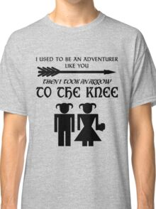 I used to be an adventurer Classic T-Shirt