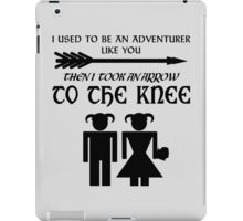 I used to be an adventurer iPad Case/Skin