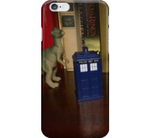 Dinosaurs have the TARDIS iPhone Case/Skin