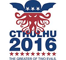 Vote Cthulhu 2016 Photographic Print