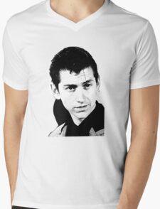 alex turner black and white Mens V-Neck T-Shirt