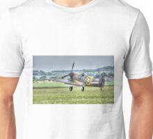 Mk1 Supermarine Spitfire Landing Unisex T-Shirt