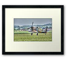 Mk1 Supermarine Spitfire Landing Framed Print