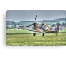Mk1 Supermarine Spitfire Landing Canvas Print