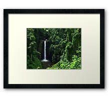Sopoaga Falls Samoa Framed Print
