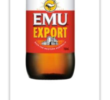 Emu export for West aussies  Sticker