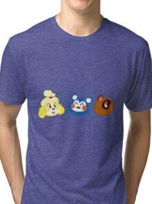 Animal Crossing Sticker Pack #1 Tri-blend T-Shirt