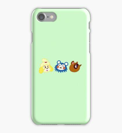 Animal Crossing Sticker Pack #1 iPhone Case/Skin