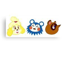 Animal Crossing Sticker Pack #1 Canvas Print