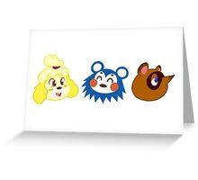 Animal Crossing Sticker Pack #1 Greeting Card