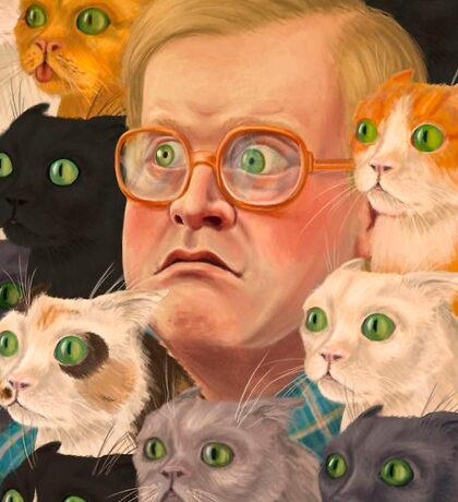 Many Cats of Bubbles Sticker