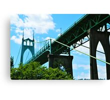 St. Johns Bridge Canvas Print