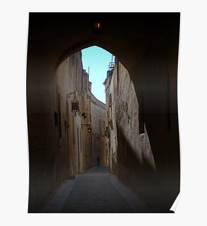 Mdina Backstreet Poster