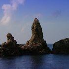 Asian Sea Stacks by davidandmandy