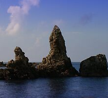 Asian Sea Stacks by davidandmandy