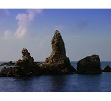Asian Sea Stacks Photographic Print