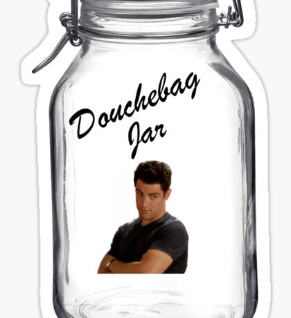 Douchebag Jar Sticker
