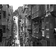 Hills And Balconies Photographic Print