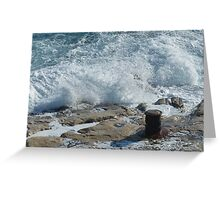 Mediterranean Spray Greeting Card