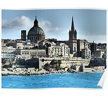 Valletta Waterfront Poster