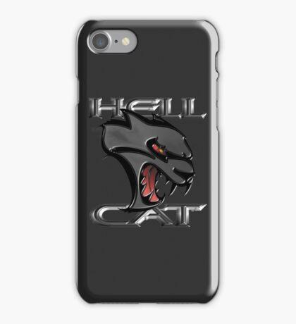 Hellcat Head - Granite iPhone Case/Skin