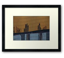 Daytime Reflections of Macau # 4 Framed Print