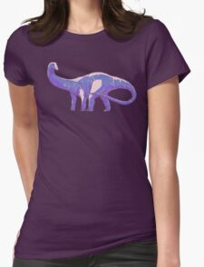 Apatosaurus Womens Fitted T-Shirt