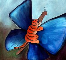 Let Art Be Your Butterfly by Marie D. Tiger Mikkonen