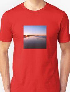 Where the sun hits the sky Unisex T-Shirt