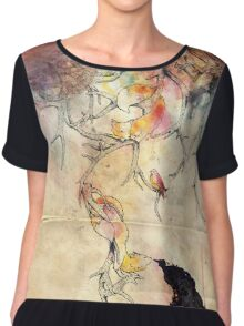 Into the Woods Chiffon Top
