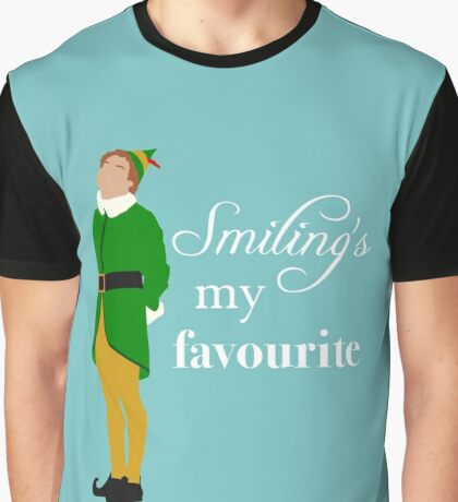 Smiling's My Favourite Graphic T-Shirt