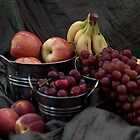 Farmers Market Fresh Fruit by Sherry Hallemeier