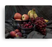 Farmers Market Fresh Fruit Canvas Print