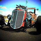 Rat Rod Roadster by Rita  H. Ireland