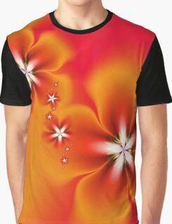 Fleur d'Automne Fractal Graphic T-Shirt