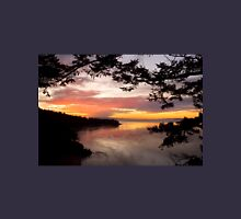 Sunset over Deception Pass, Washington state Unisex T-Shirt