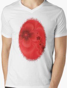 Remembrance Fractal Mens V-Neck T-Shirt