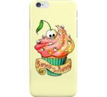 Sweet Skull Cupcake iPhone Case/Skin