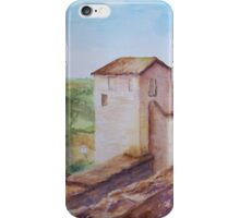 Puycelci Tower in Provence WC150615-12 iPhone Case/Skin