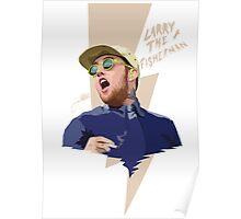"MAC MILLER ""Larry fisherman"" Poster"