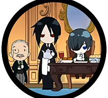 Black Butler Chibi Ending Scene by BlondieAu