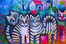 Pussicats by Karin Zeller