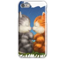 For LOVERS. For Beloved. Two kittens in love iPhone Case/Skin