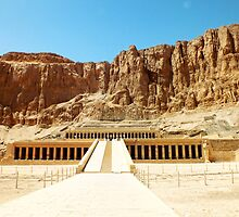 Temple of Hatshepsut by Ludwig Wagner