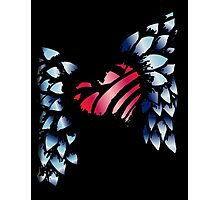 Winged Heart Photographic Print
