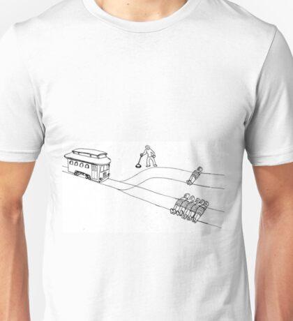 Trolley Problem Unisex T-Shirt