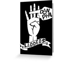 LADDERS - 2k15 (White). Greeting Card
