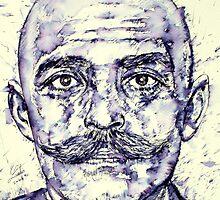 GURDJIEFF - portrait by lautir